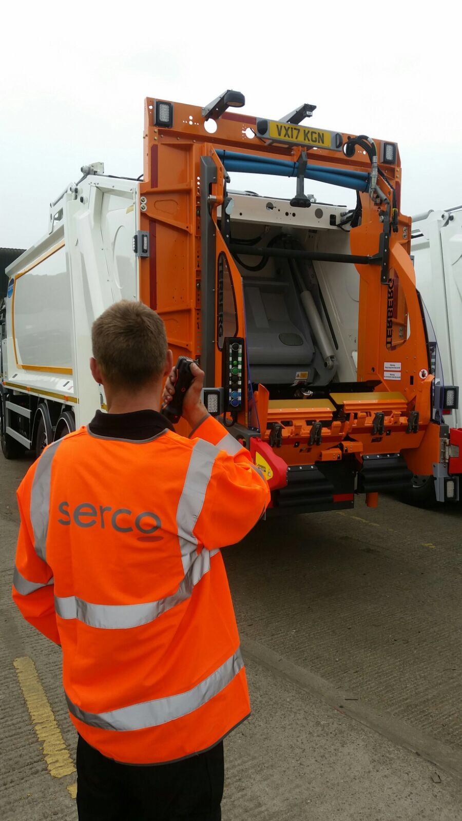 Serco Tackles Reversing Safety