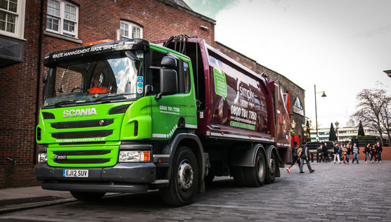 Cyclist And Driver Safety A Top Priority At Simply Waste Solutions