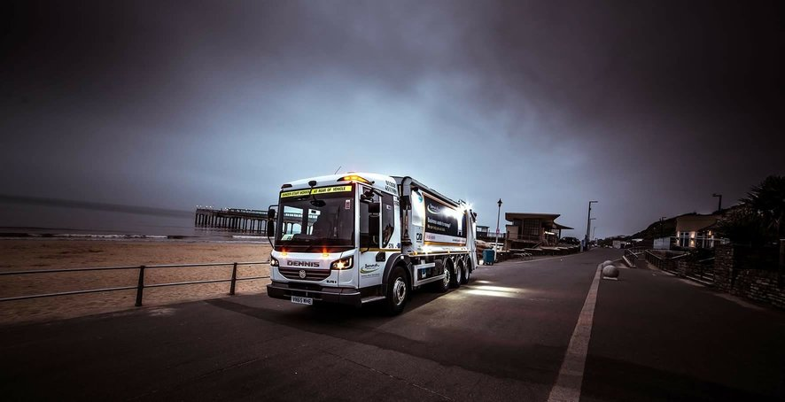 Super-Safe, Super-Size Refuse Truck Improves Efficiency In Bournemouth