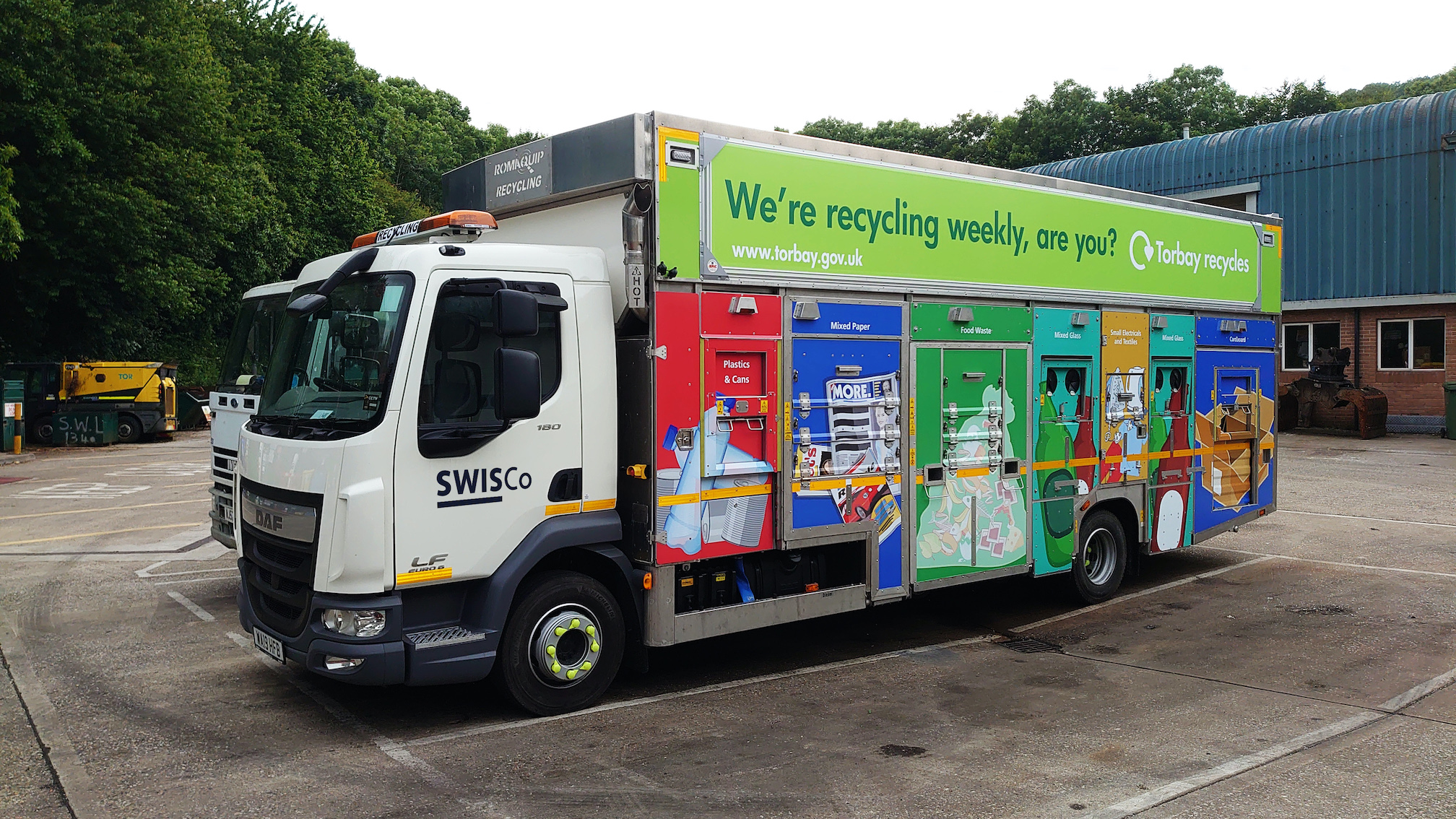Torbay enhances waste and recycling fleet safety with LIVE camera systems